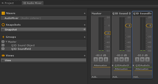 3D Audio Plugin for Unity Quick Start Guide - Qualcomm
