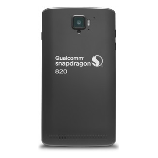 Snapdragon MDP 820 Smartphone rear view