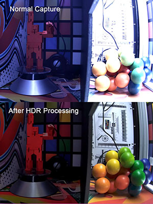 OpenCL before and after image