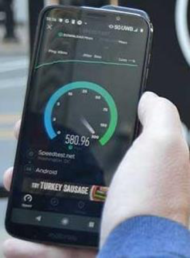 Download speeds during 5G rollout in Chicago