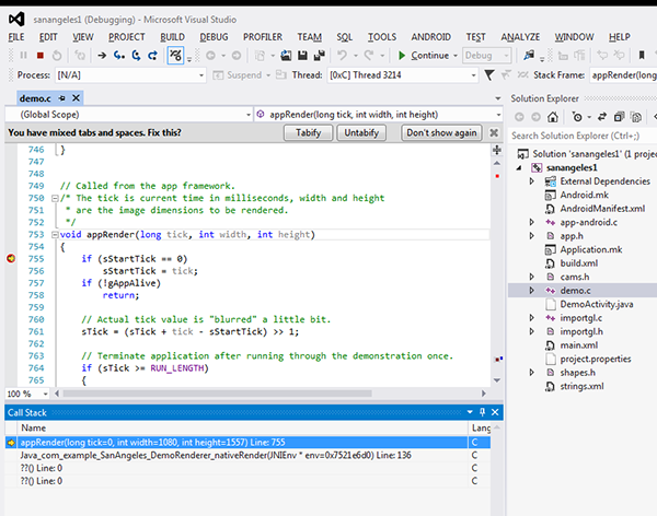Snapdragon Debugger for Visual Studio - Quick Start - Qualcomm