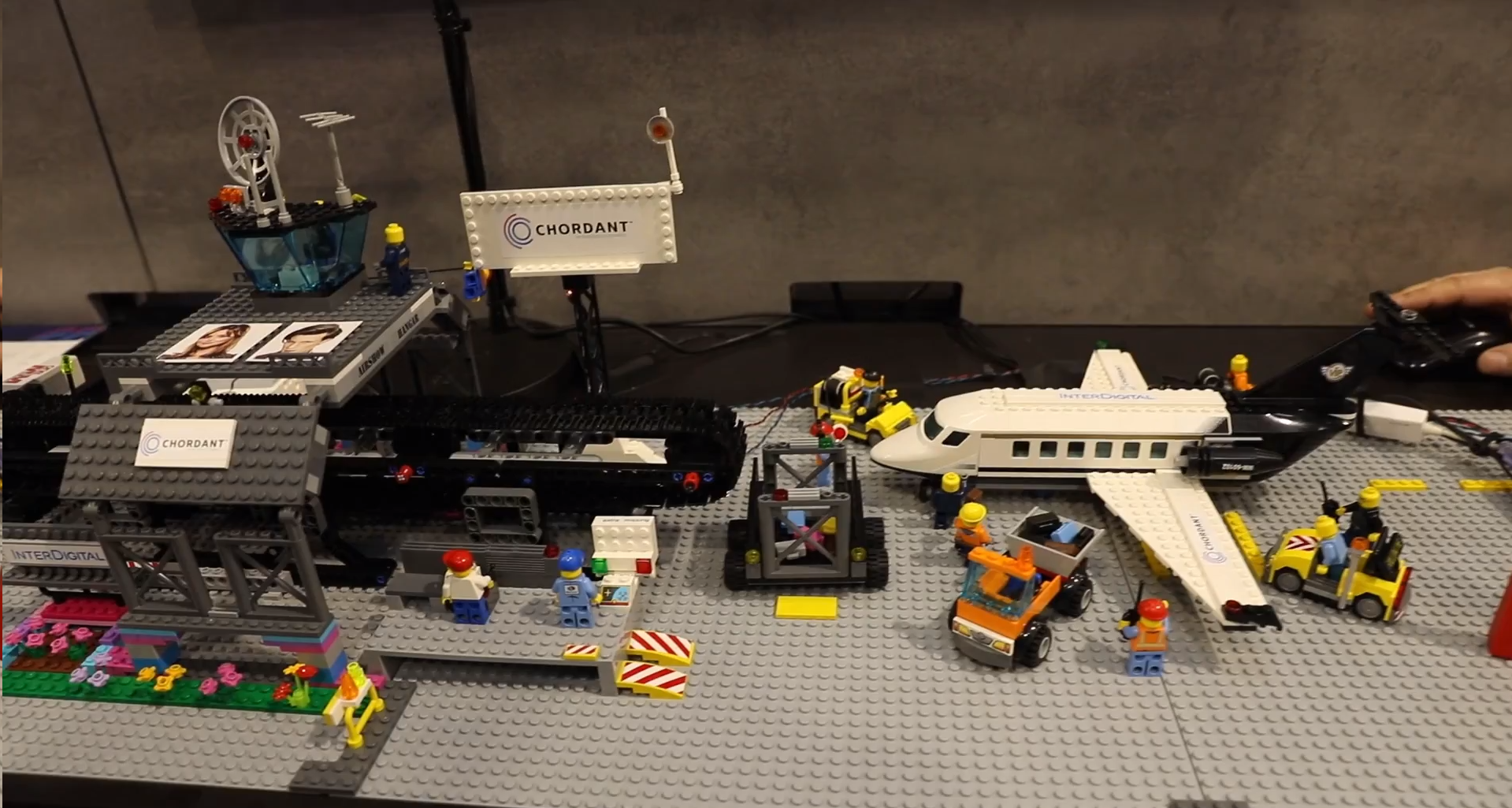 Smart Airport Demo from Chordant