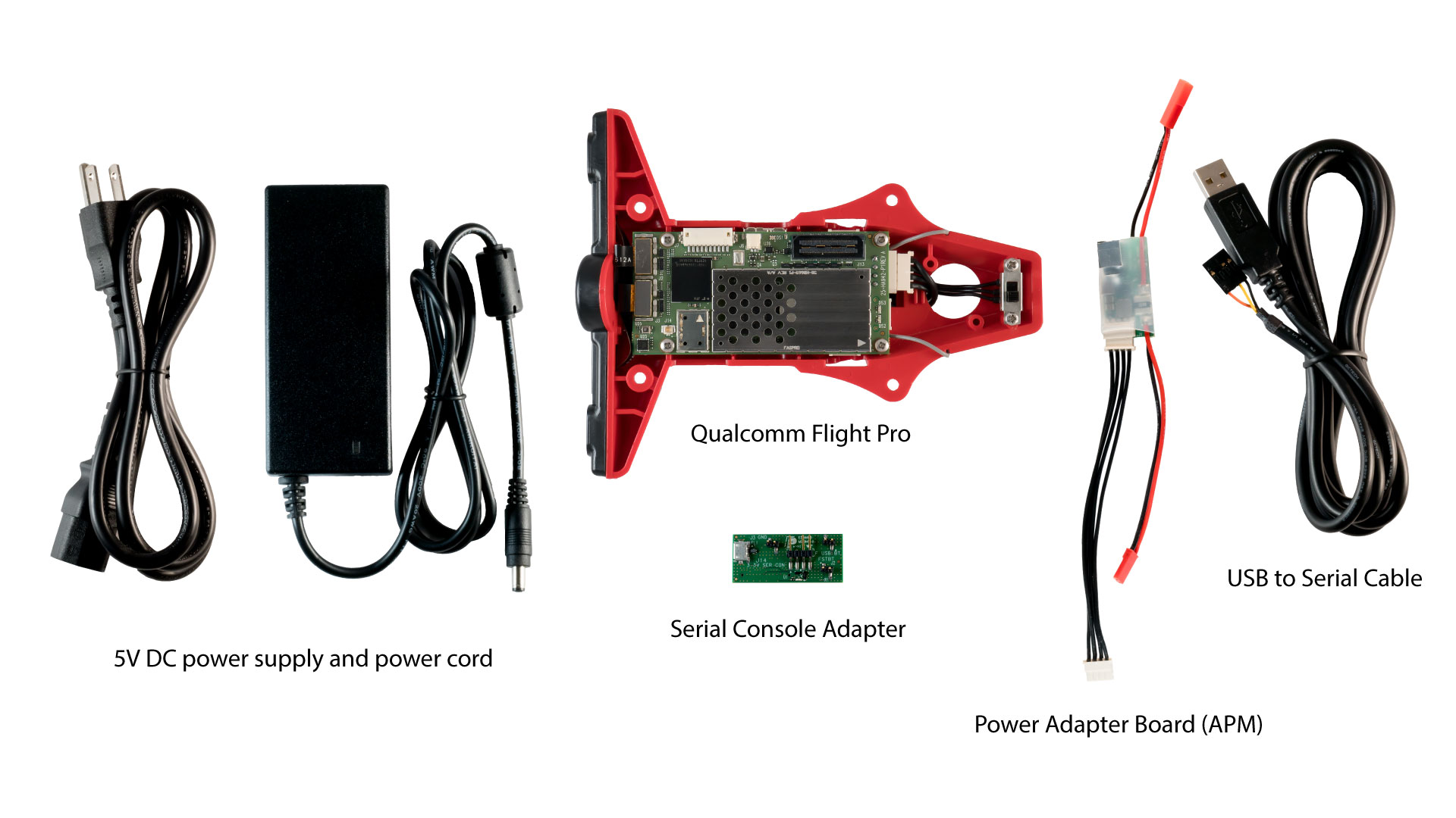 Qualcomm Flight Pro complete kit