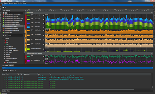 Snapdragon Profiler Realtime Mode