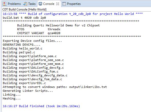 Eclipse IDE Console output