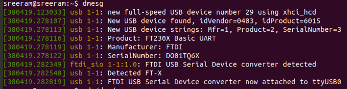 USB device file[ttyUSB0] detection