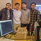Eric Ho, Wilson Tran, Justin Wu and Nicholas Ha