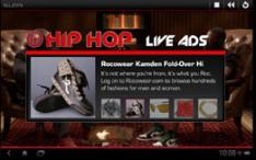 Hip Hop Official Live Ads
