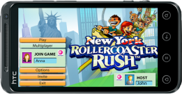 3D Rollercoaster Rush: New York